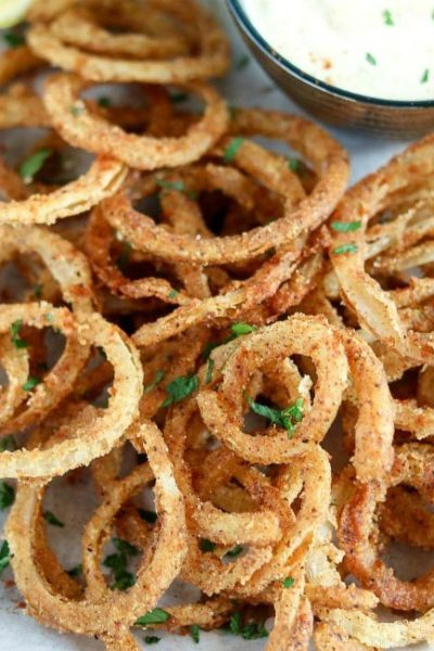 Crispy Fried Onion Straws