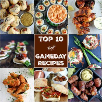 Top 10 Gameday Recipes - Karyl's Kulinary Krusade