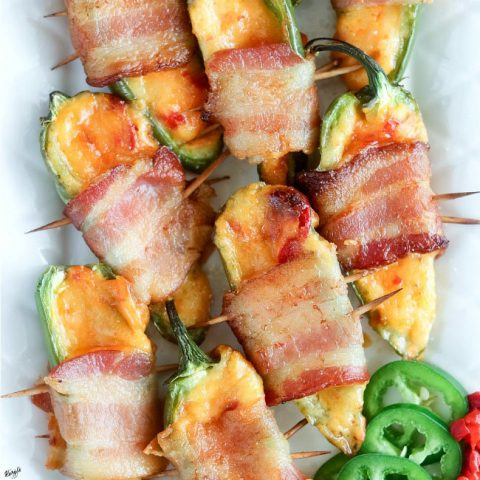 Bacon Pimiento Cheese Jalapeno Poppers - Karyl's Kulinary Krusade