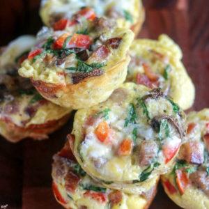 Loaded Breakfast Egg Muffins - Karyl's Kulinary Krusade