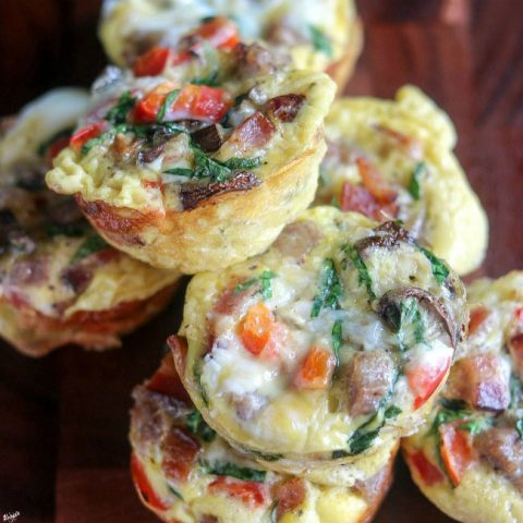 Loaded Breakfast Egg Muffins - Karyl's Kulinary Krusade