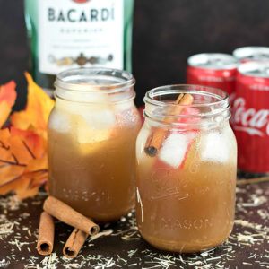 Apple Cinnamon Rum Punch - Karyl's Kulinary Krusade