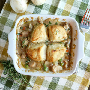Biscuit Chicken Pot Pie - Karyl's Kulinary Krusade