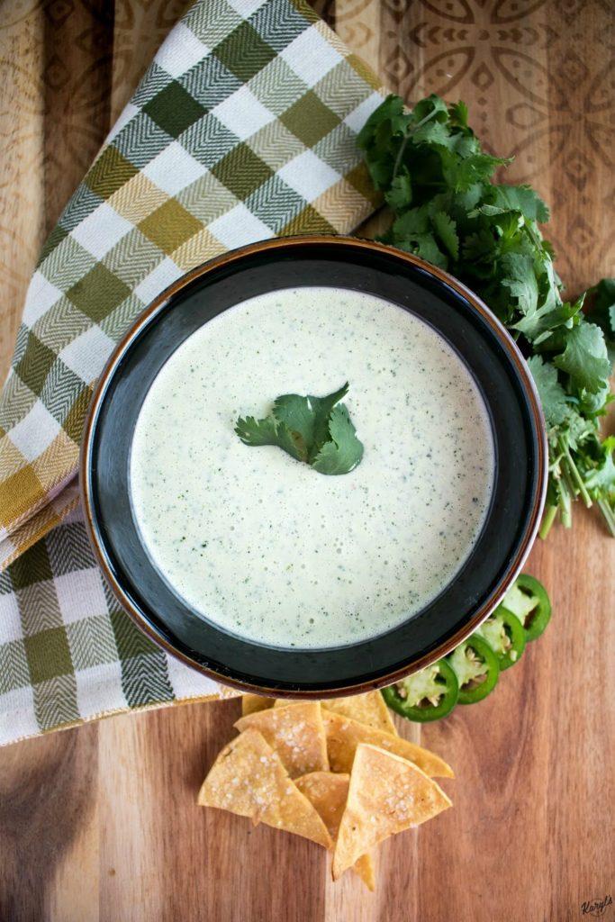 Chuy's Creamy Jalapeno Dip - Karyl's Kulinary Krusade