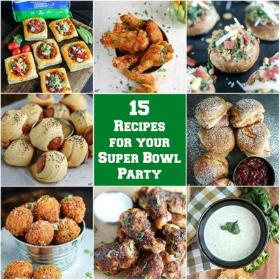 Top 15 Super Bowl Party Recipes