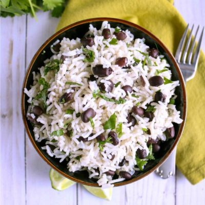 Cilantro Lime Black Bean Rice