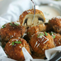 Easy Pan Fried Mushrooms