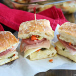 Hot Muffaletta Sliders